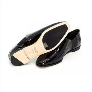 Jimmy Choo Glint Patent Leather Flats New $895